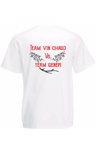 T-shirt humour TEAM GENEPI
