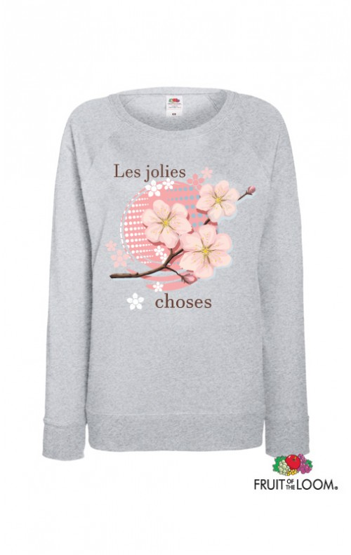 Sweat-shirt les jolies choses
